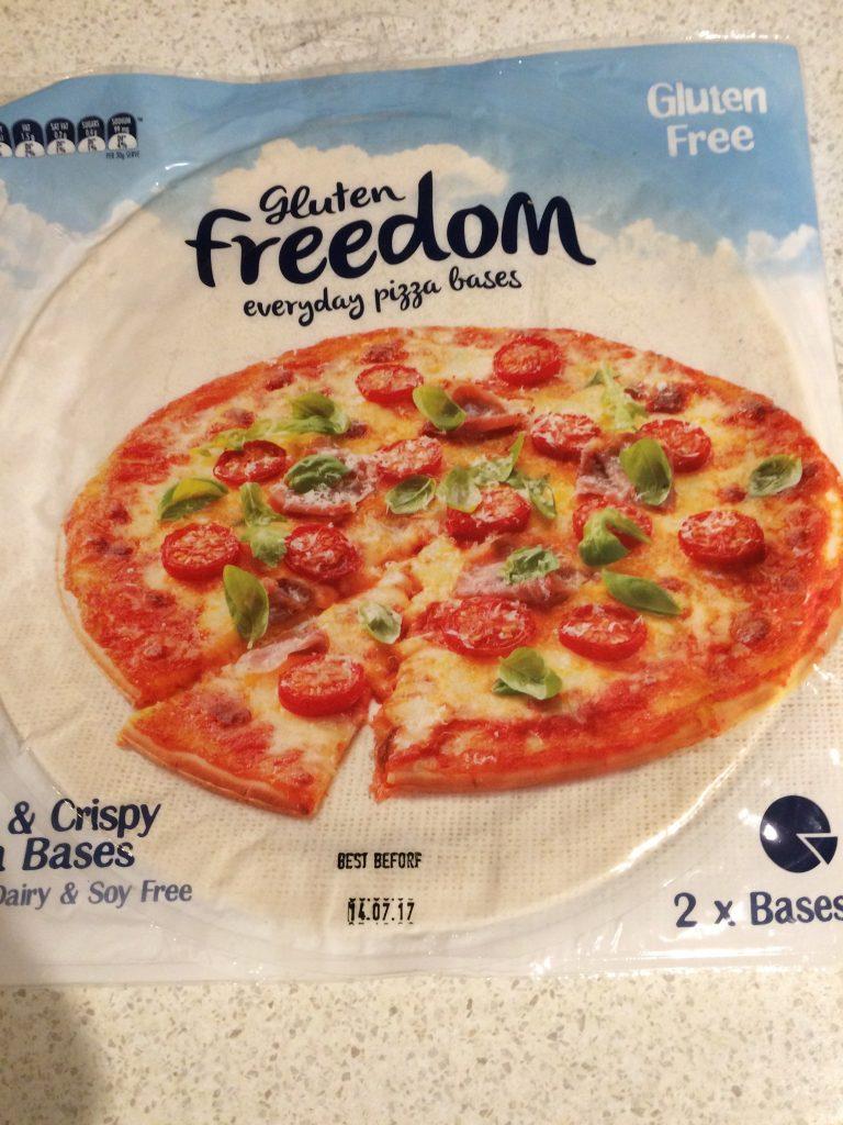 グルテンフリーピザ1
